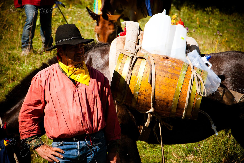 Festa Bella 2010 – Rifornimenti con i muli